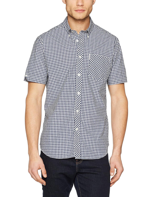 Ben Sherman SS Core Gingham Shirt Camisa Casual para Hombre