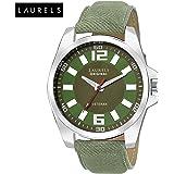 Laurels Gatsby Analog Green Dial Men's Watch - Lo-Gt-204