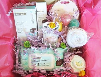 Canastilla XL para Bebés con Productos SUAVINEX y Ropita para Bebé | TODO es de MARCA