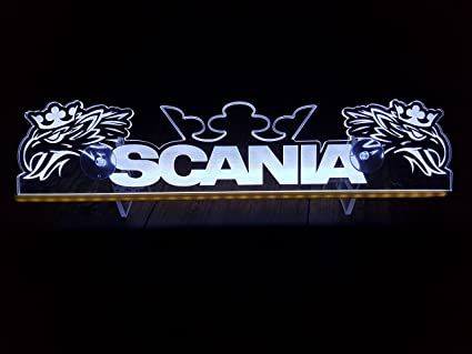 Cartel luminoso 24 V LED para camiones, con águila blanca ...