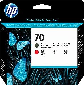 HP 70 Matte Black & Red DesignJet Printhead (C9409A) for DesignJet Z3100 Large Format Printers