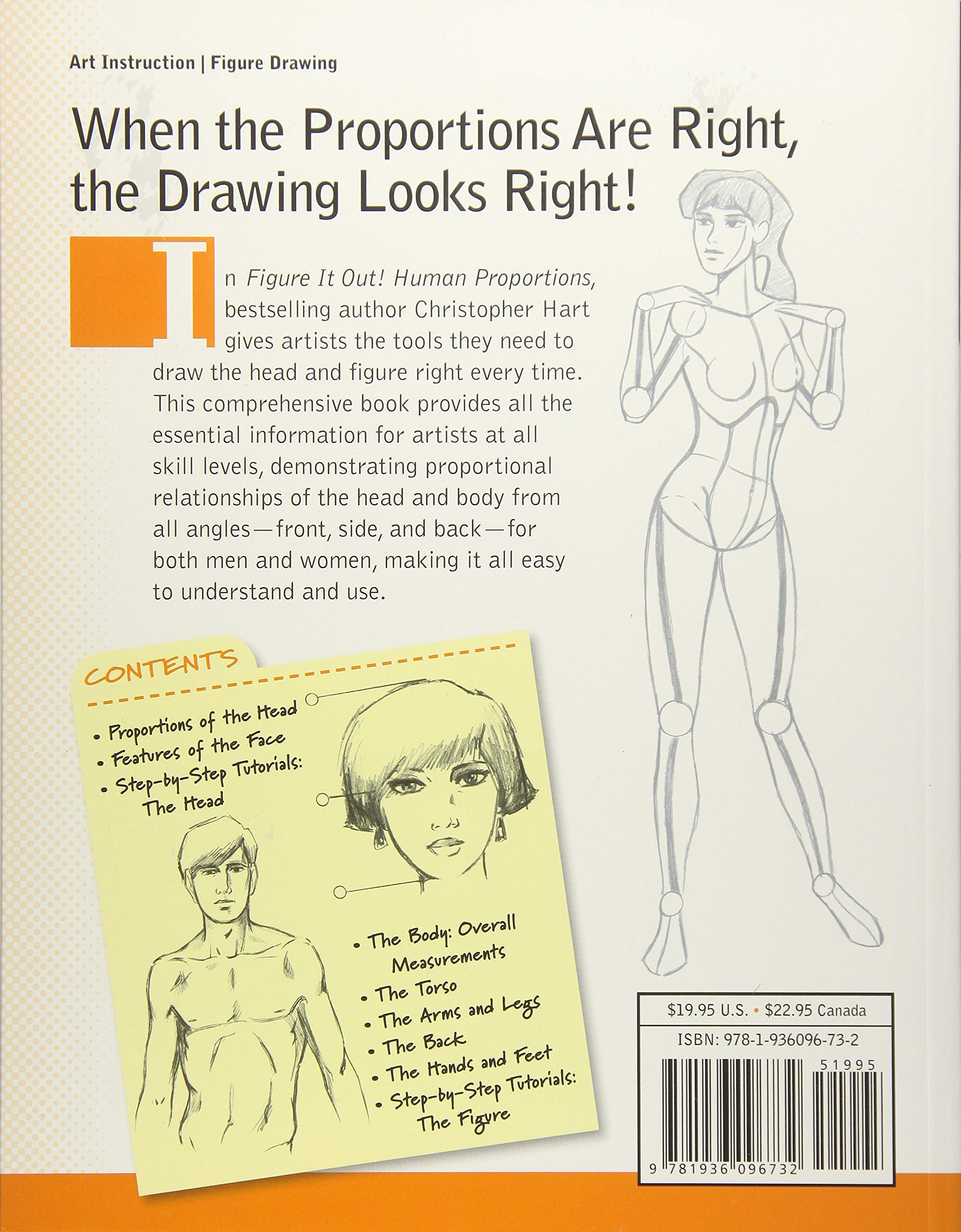 Figure It Out Human Proportions Draw The Head And Figure Right Every Time Christopher Hart Figure It Out Hart Christopher 8601200918779 Amazon Com Books