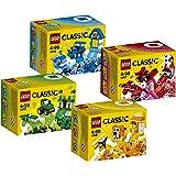 Lego Kreativ-Box-Set 4-teilig, bestehend aus: 10706 blau, 10707 rot, 10708 grün, 10709 orange