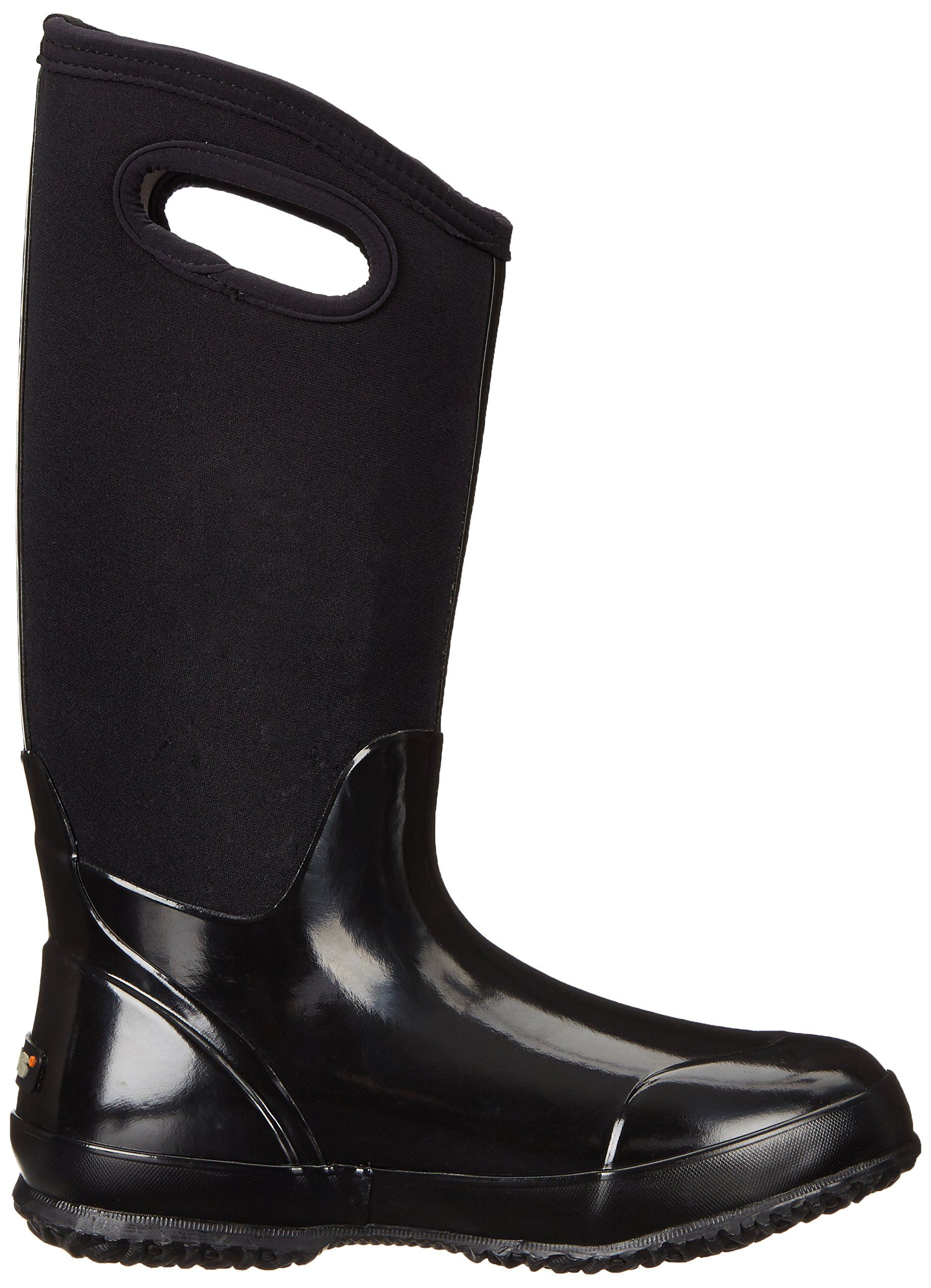 Bogs Women's Classic High Handle Waterproof Insulated Boot,Black Smooth,7 M US by Bogs (Image #6)