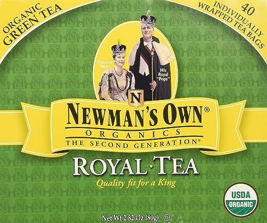 Newman's Own Organic Green Tea
