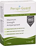 Perspi-Guard Maximum Strength Antiperspirant Wipes - 7pk
