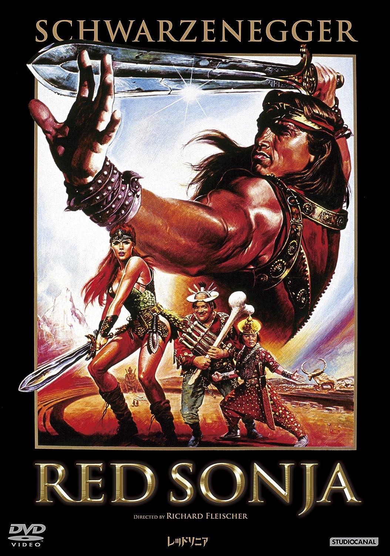 Arnold Schwarzenegger - Red Sonja Edizione: Giappone Italia DVD: Amazon.es: Cine y Series TV