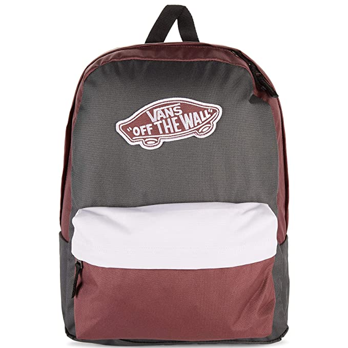 6101217ef Amazon.com | VANS Realm Backpack Asphalt/Catawba Grape/Lavender Fog ...
