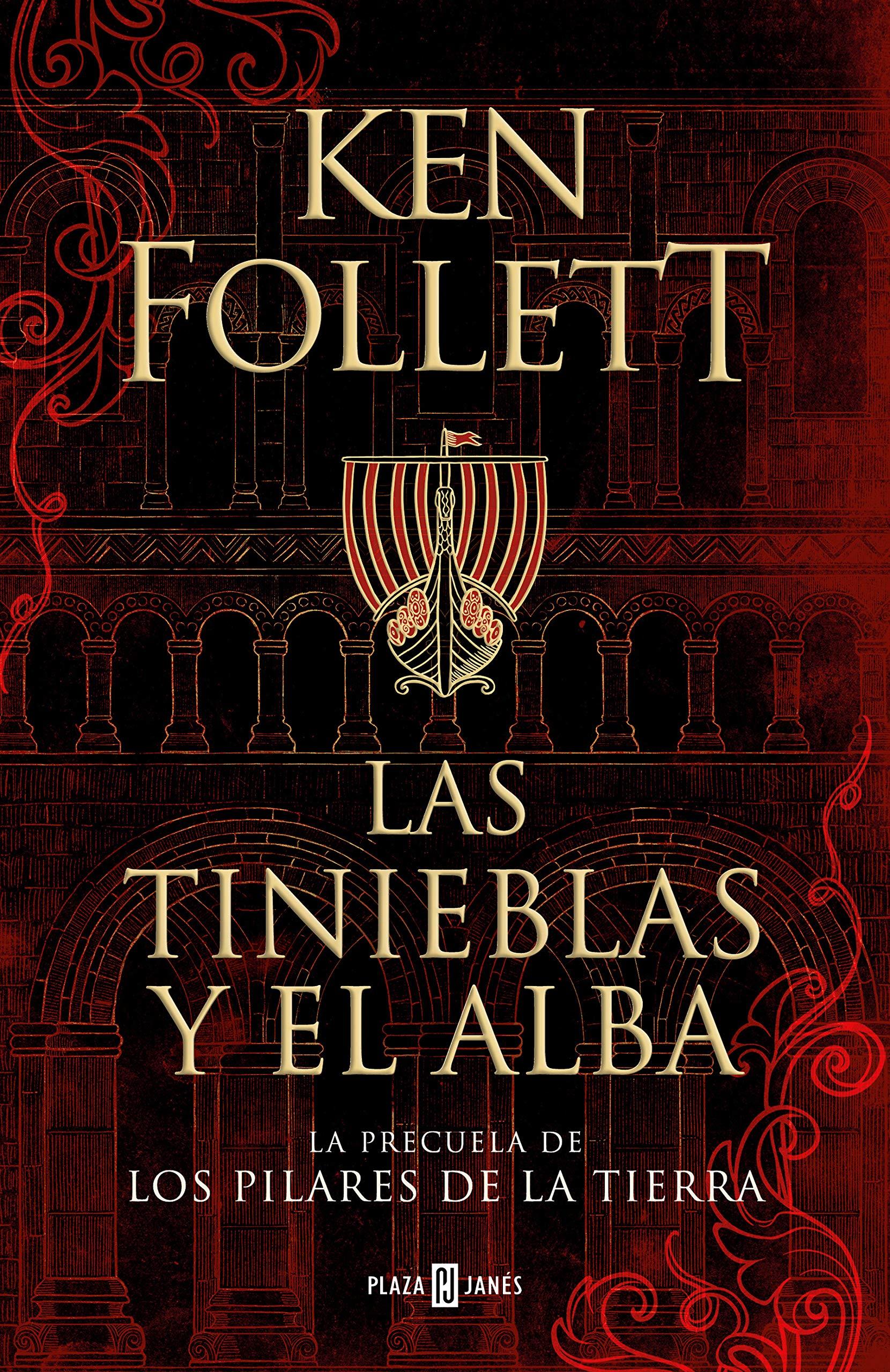 os 5 Mejores Libros Y Más Vendidos Del Corte Inglés  -Las Tinieblas Y El Alba - Ken Follett