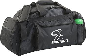 Spinning® Unisex - Engranaje Grande Bolsa de Deporte, Negro ...