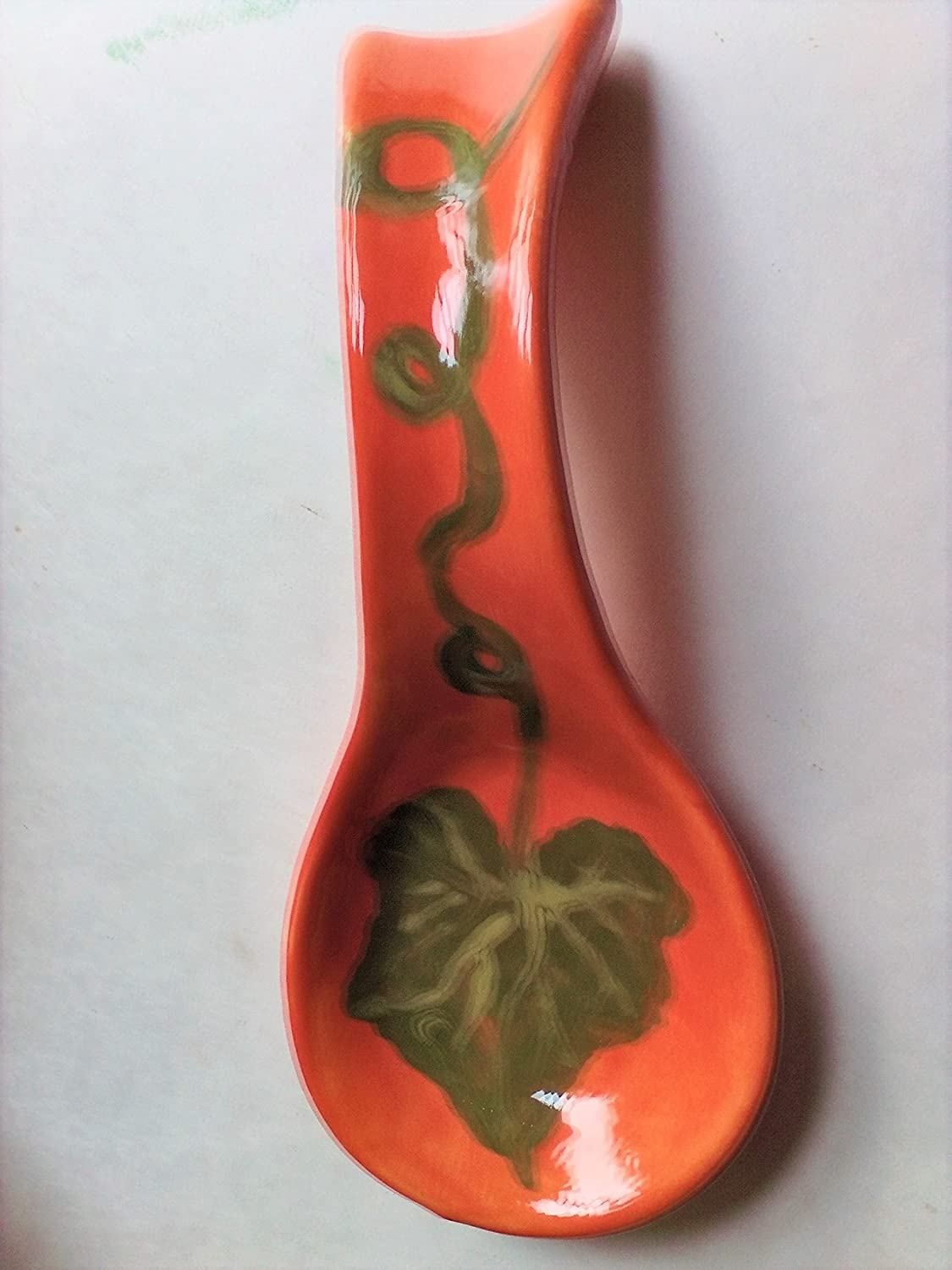 USA hand painted Fall or Thanksgiving on spoon rest