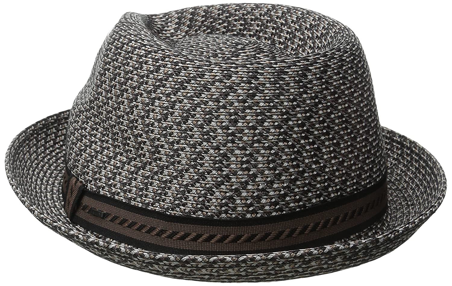 Bailey of Hollywood Men s Mannes Braided Fedora Trilby Hat at Amazon Men s  Clothing store  a4b9df5731f