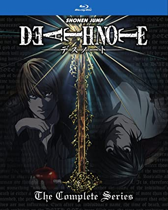 AmazonCom Death Note Complete Series Standard Edition BluRay