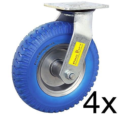 Pro-lift-Montagetechnik 4 ruedas de maniobra de carga 4 x 80 kg Capacidad