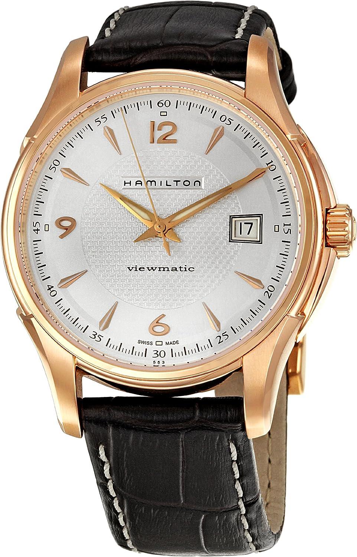 Hamilton Men s H32545555 Jazzmaster Silver Dial Watch
