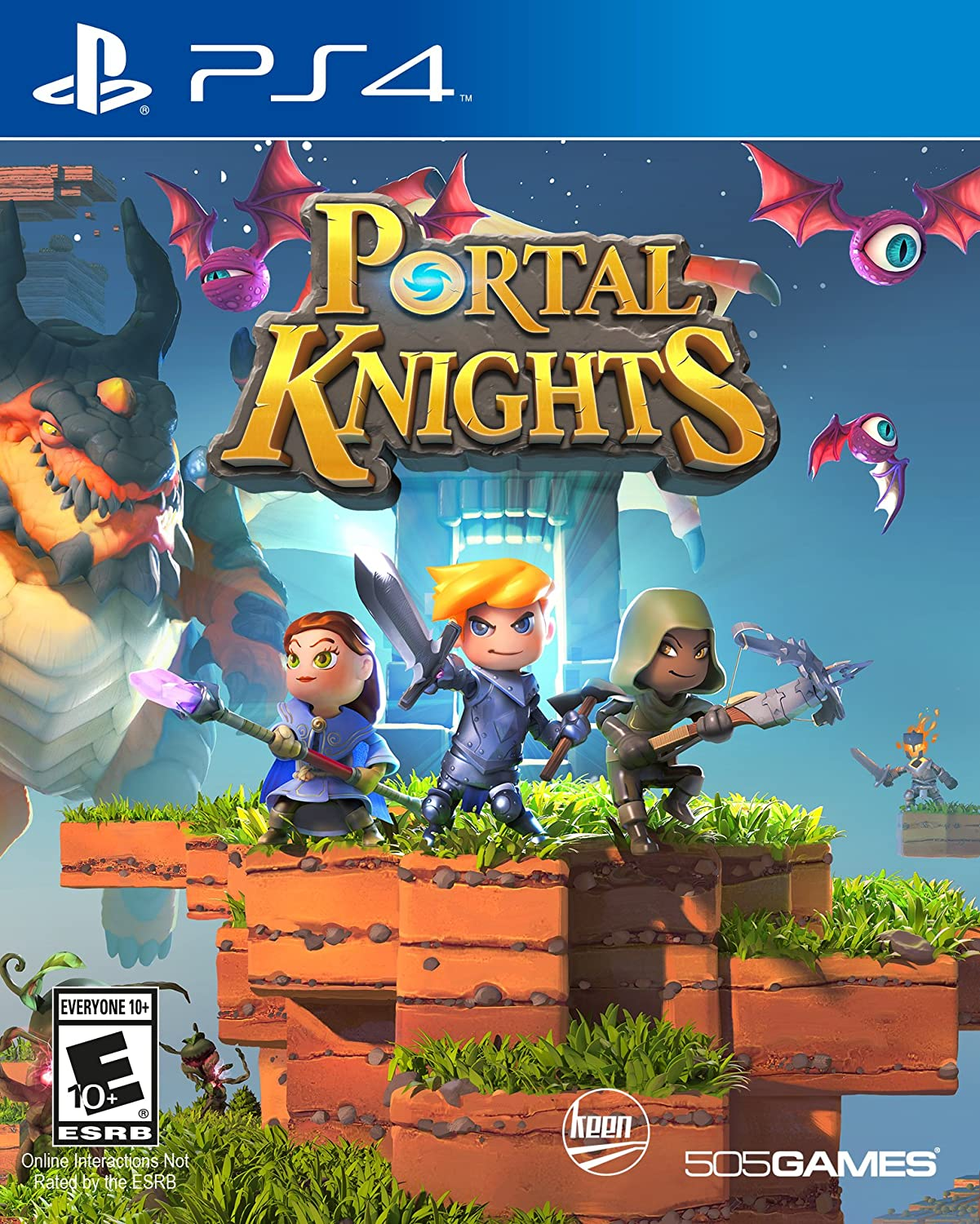 Amazon com: Portal Knights: Gold Throne Edition - Xbox One