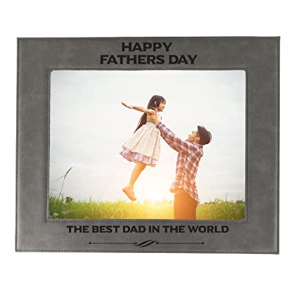 Amazon.com - Personalized Dad Picture Frame - Fathers Day Photo Gift ...