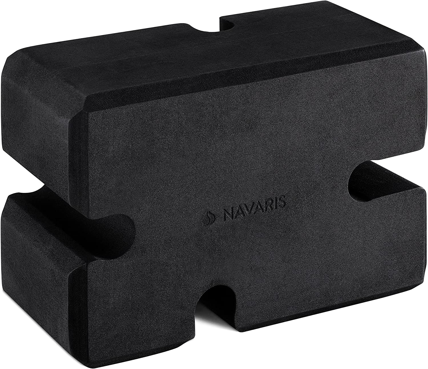 Navaris Bench Block for Weightlifting - Bench Press Block for Lifting Weights - Replaces Boards and Yoga Blocks - Train and Do Board Presses Alone: Sports & Outdoors
