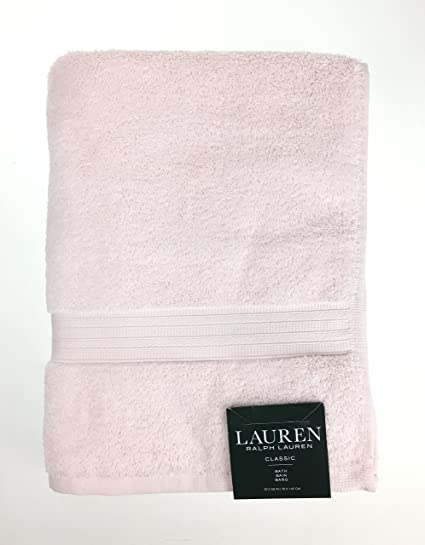 Amazon Com Lauren Ralph Lauren Classic Bath Towel Light Pink