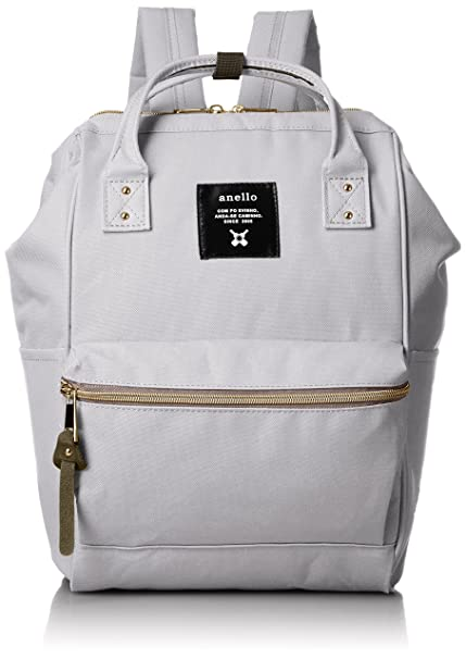 36ed0250db57 anello  AT-B0197B small backpack with side pockets (Light gray ...