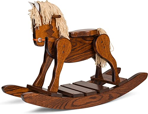 Amish Made Wooden Rocking horse