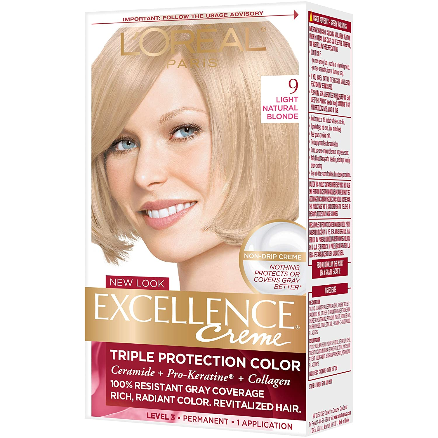 Excellence Creme Pro Keratine 7 Dark Blonde Natural By Loreal