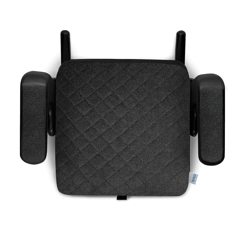 Clek Olli Backless Booster Car Seat with Rigid Latch, Shadow X