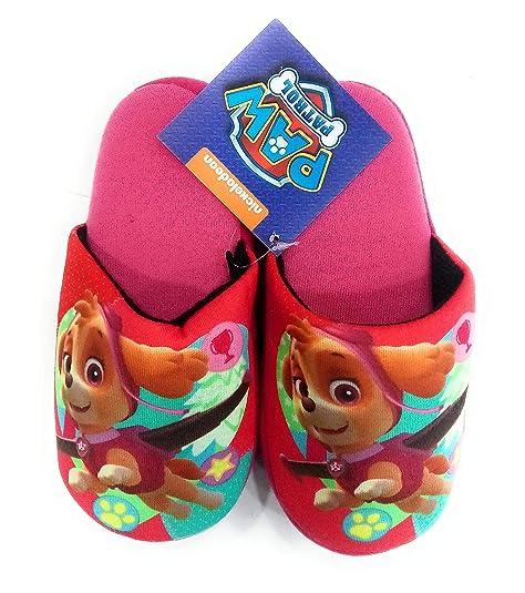 Pantuflas Patrulla Canina Zapatillas de Casa Talla 29/30: Amazon.es: Zapatos y complementos