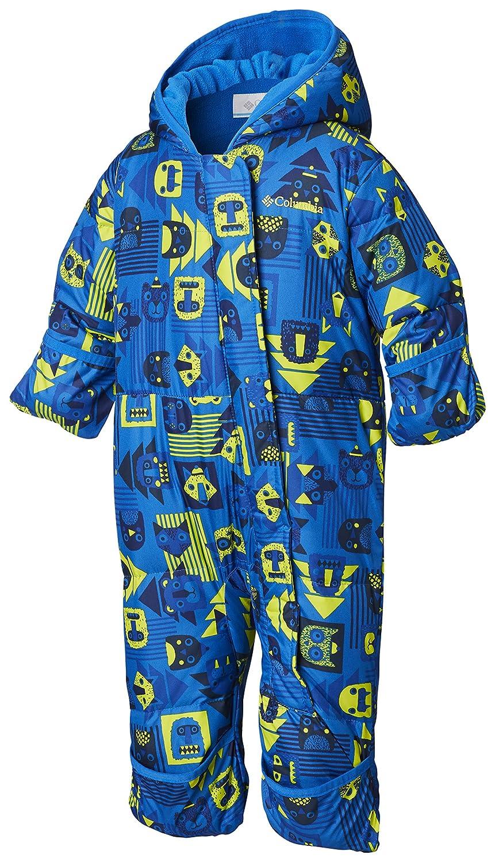 Columbia Mono para bebé , Snuggly Bunny Bunting, Azul Critter, Super Blue, Talla 6/12 Meses 1516331