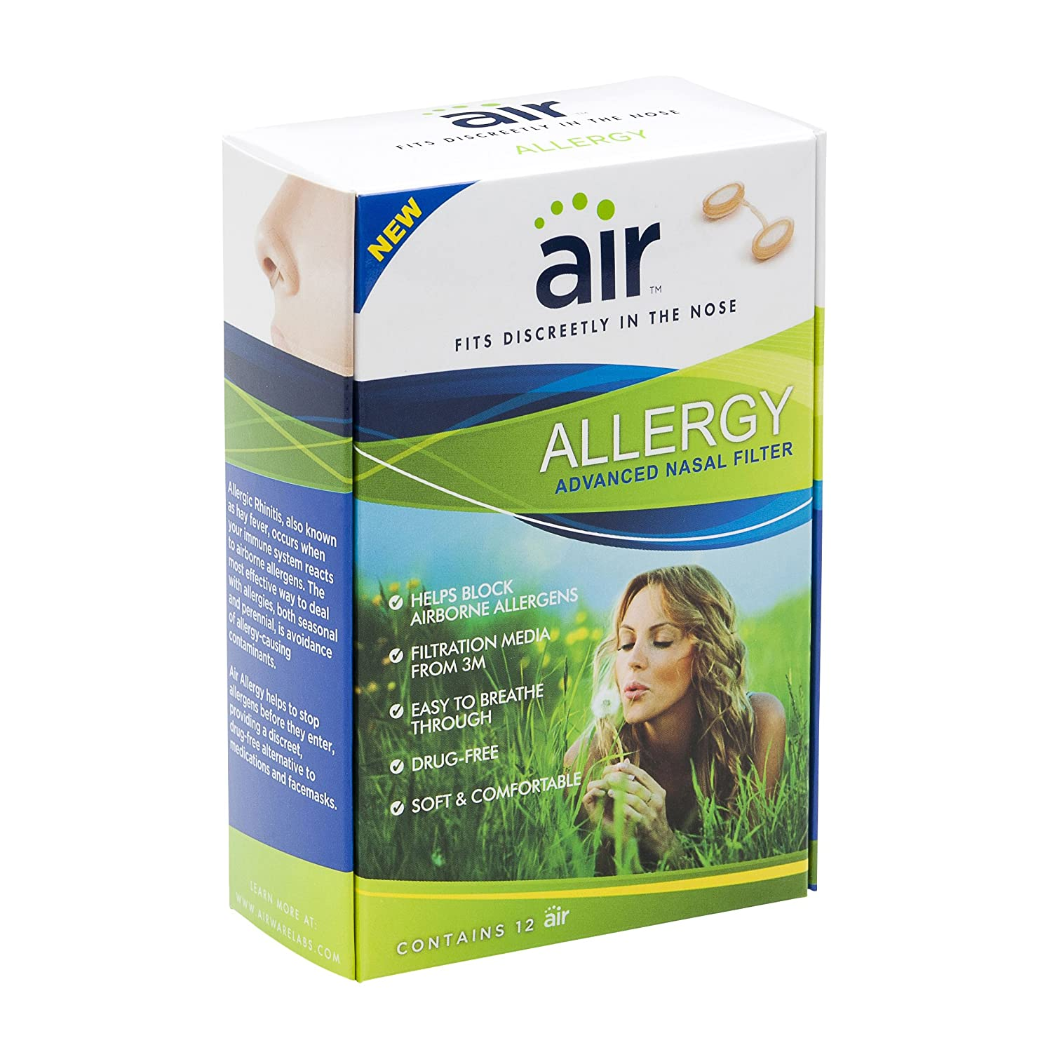 air allergy advanced 3m nasal filter 12 count health
