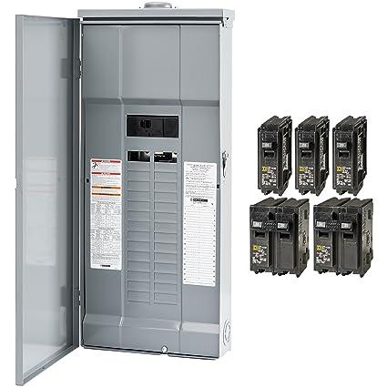 square d by schneider electric hom3060m200prbvp homeline 200 amp 30 rh amazon com