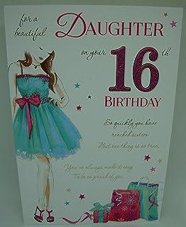 Loving Words Daughter 16th Birthday Card Lovely Verse