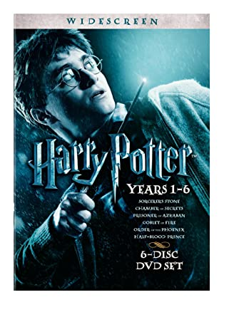 Amazon Com Harry Potter Years 1 6 Gift Set Widescreen Edition Daniel Radcliffe Rupert Grint Emma Watson Movies Tv