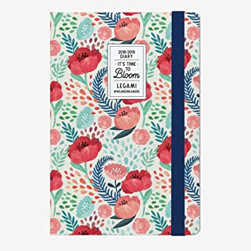 Legami 8051122266234 Agenda 18 Meses, Flower: Amazon.es ...