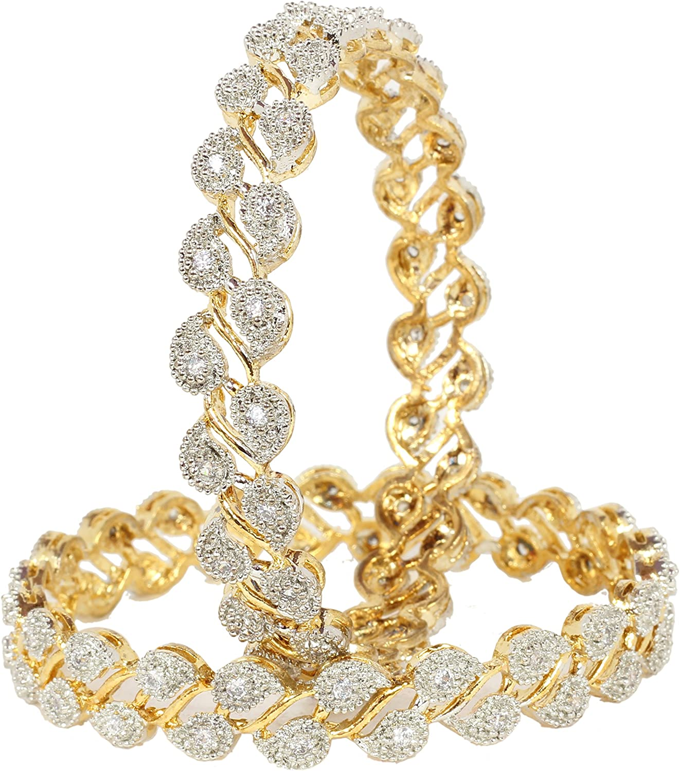 CHAUHAN COLLECTION Traditional Bollywood Gold Plated Unique Traditional Fashion Red Bangle Indian Party wear Jewelry