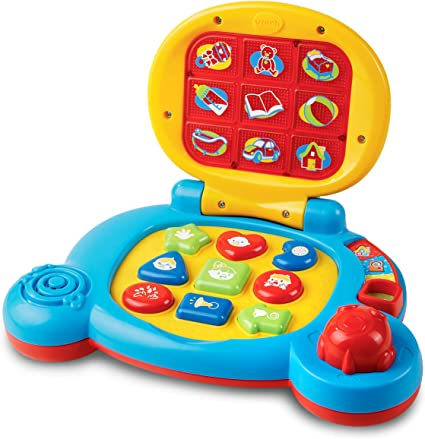Baby Computer Kids Pre School Educational Learning Study Toy Laptop Game Gift BS