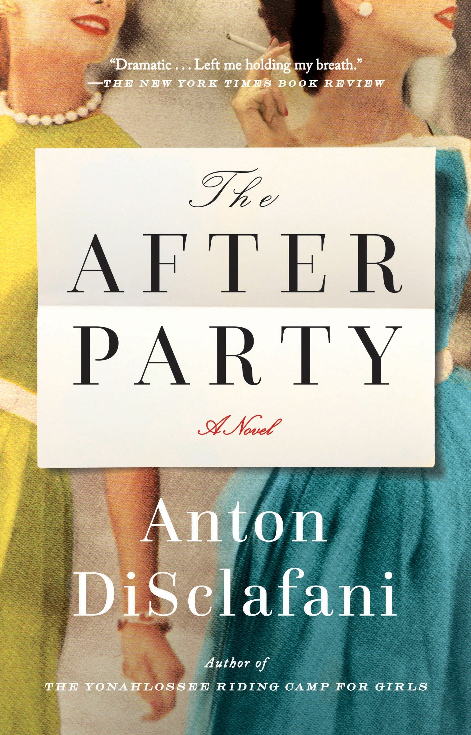 The After Party A Novel Disclafani Anton 9780399573187 Amazon Com Books