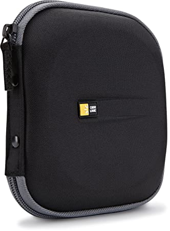 Amazon.com: Funda Case Logic EVA moldeada para CD/DVD 24 ...