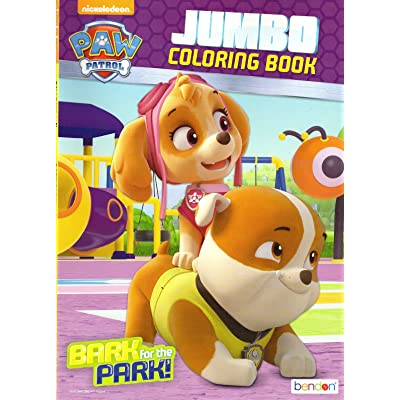 Paw Patrol Coloring and Activity Book - Bark for the Park!: Toys & Games