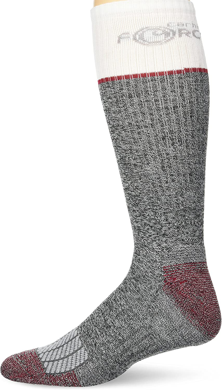 Carhartt mens Force Performance Steel Toe Crew Socks 2 Pair