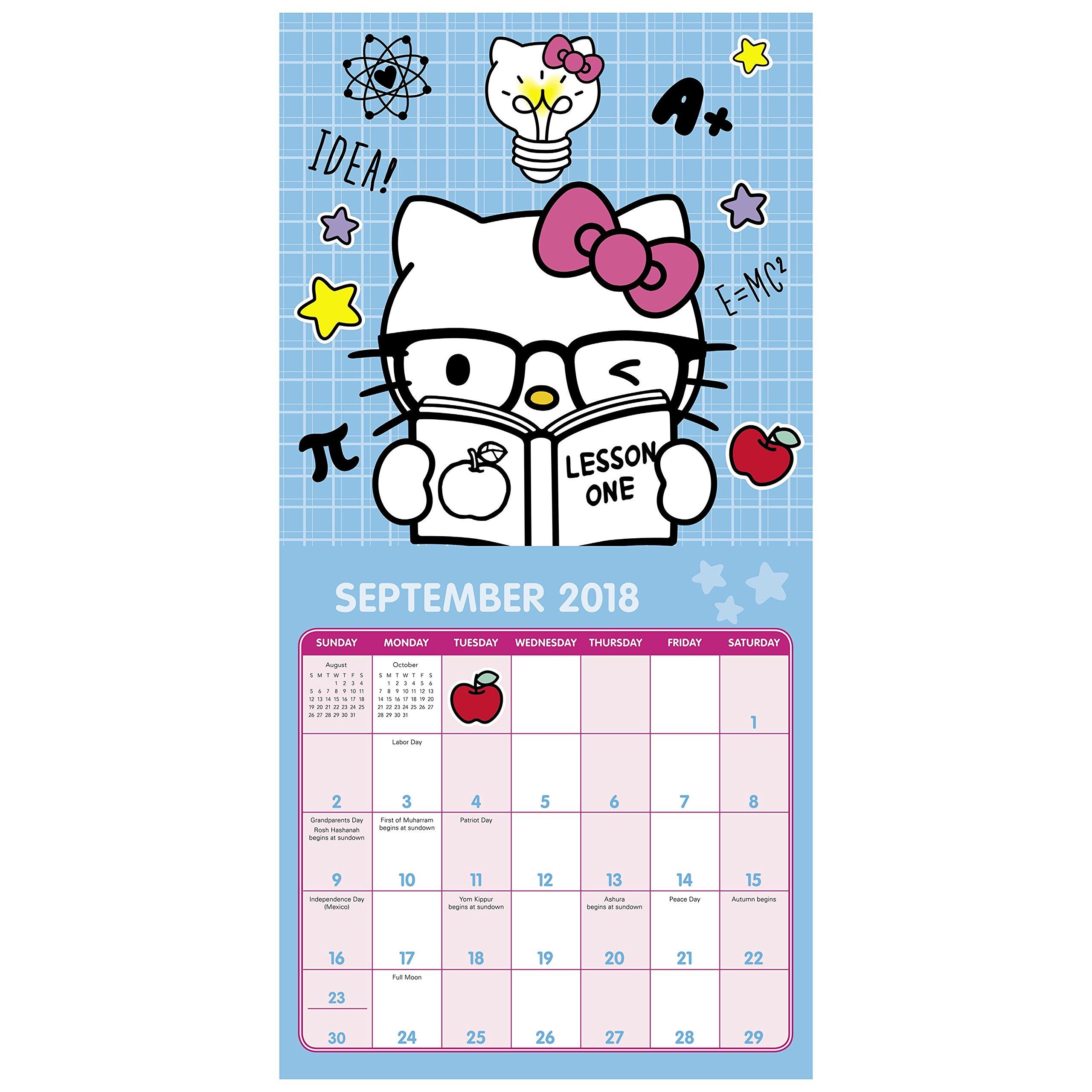 hello kitty naptár 2018 Hello Kitty Mini Calendar (Day Dream): Day Dream  hello kitty naptár