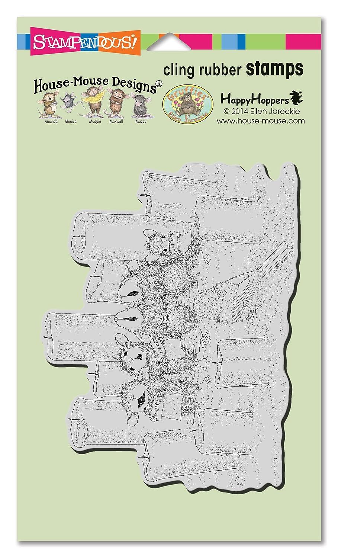 Stampendous hmcr74 casa ratón, diseño de Sello,, 4 x 12,7 cm