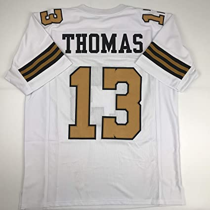 brand new 0f2b7 cc1b3 Unsigned Michael Thomas New Orleans Color Rush Custom Stitched Football  Jersey Size Men's XL New No Brands/Logos