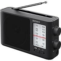 Sony ICF-506 Analog Tuning Portable FM/AM Radio, Black