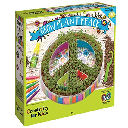 Amazon Creativity For Kids Plant A Peace Garden Kit Peace