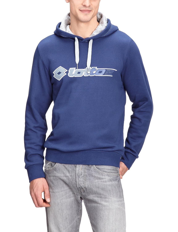 Lotto Sport Phil FL HD N9212 Men's Hooded Sweatshirt Long-Sleeved