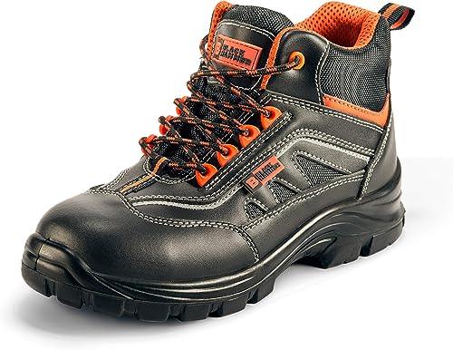 Homme baskets de sécurité chaussures de travail steel toe cap randonneur bottines