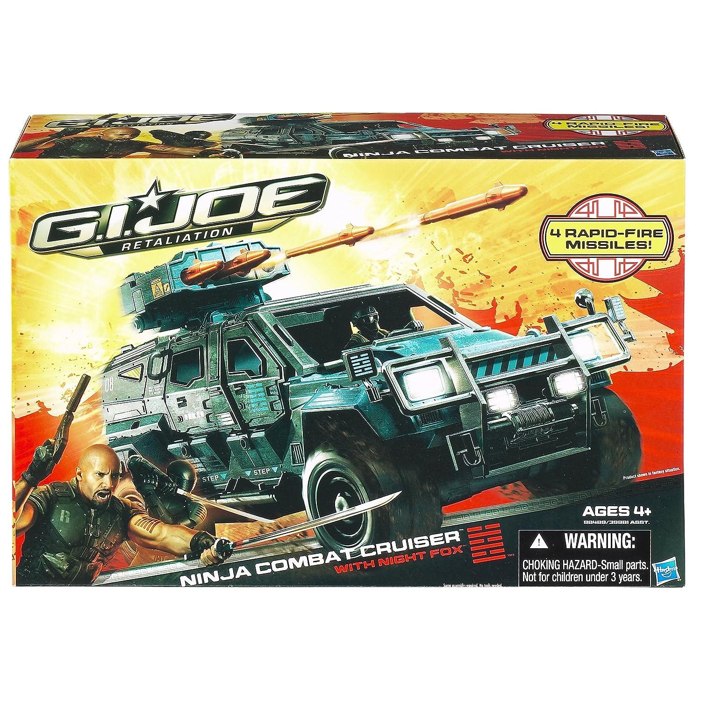 G.I. Joe Retaliation Ninja Combat Cruiser Vehicle with Night ...