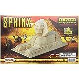 Puzzled, Inc. 3D Natural Wood Puzzle - Sphinx