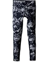 Zobha Women's Cosmo-Printed Legging with Mesh Panels